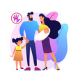 parental responsibility abstract concept vector image vector image
