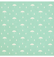 seamless raindrops pattern with umbrella on paper