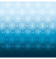 winter blue background crop vector image