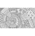 abstract line art for background wall decoration vector image