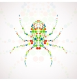 Abstract spider cartoon vector image vector image