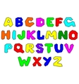 Colorfull alphabet