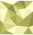 Green triangle flat mosaic background or pattern vector image vector image