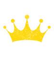 royal crown icon vector image vector image