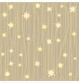 Stripy pattern with stars vector image vector image