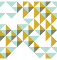 triangles and rhombs geometric abstract trendy vector image