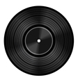 Vinyl audio disc vector image