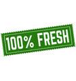 100 fresh grunge rubber stamp vector image vector image
