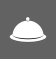 Cloche Cover for hot dishes Accessory cooks and vector image vector image