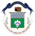 coat arms winnipeg in canada vector image vector image