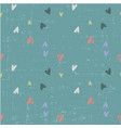 cute childish seamless pattern with hearts for vector image