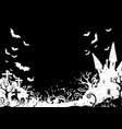 dark halloween background vector image vector image