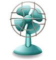 Electric fan vector image vector image