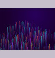 fiber optics abstract cyber monday background vector image vector image