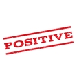 Positive Watermark Stamp vector image