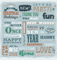 quotes wishes and greetings messages vector image vector image