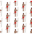 australian aborigin seamless pattern vector image vector image