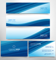 business stationary collection vector image vector image