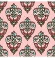 Damask vintage floral seamless pattern vector image vector image