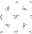 global web network pattern seamless vector image vector image