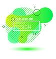 gradient geometric banners vector image vector image