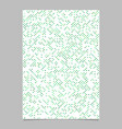 green circle pattern brochure background vector image vector image