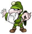 Green Dwarf vector image vector image