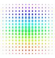 terrorist balaklava shape halftone spectral effect vector image vector image