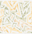 white maze seamless pattern vector image vector image
