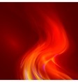 Abstract magical flame vector image vector image
