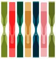 background color bottle vector image