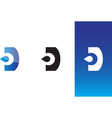 drop water logo vector image vector image