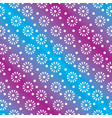 floral or snowflakes geometric seamless pattern vector image vector image