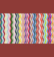 geometric wavy background vector image vector image