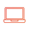 laptop computer technology device wireless vector image vector image