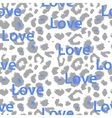Leopard print pattern Repeating seamless vector image vector image