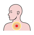 Male Human Anatomy vector image vector image