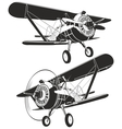 Retro biplane vector | Price: 1 Credit (USD $1)