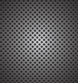 seamless circle perforated carbon speaker grill vector image vector image
