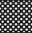 seamless geometric texture with circles squares vector image vector image