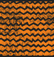 seamless halloween chevron pattern black and vector image vector image
