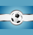 Abstract football design vector image vector image