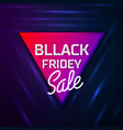 black friday sale concept abstract backg vector image