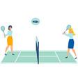 office workers play tennis throwing work in vector image vector image
