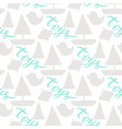 seamless silhouette baby pattern backdrop web vector image