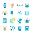 Smart Technology Icons Set vector image vector image