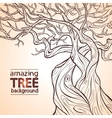 Tree amazing vector image vector image