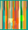 bar menu ilustration vector image