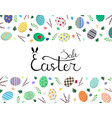 calligraphy lettering easter sale inscription vector image