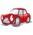 happy cartoon car vector image vector image